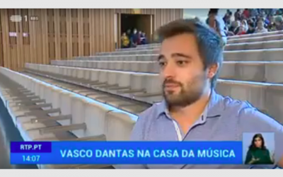 """RTP – Vasco Dantas returns to Casa da Música with Orquestra Sinfónica do Porto"""