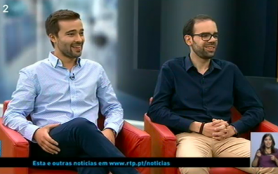 """Página 2″ RTP 2 – Tomás Costa & Vasco Dantas, with Sandra Sousa"""