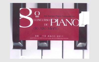 8th Iberian Piano Competition Alto Minho, PORTUGAL