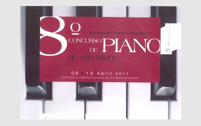 8th Iberian Piano Competition Alto Minho, PORTUGAL