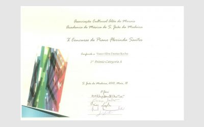 10th Florinda Santos Piano Competition, PORTUGAL