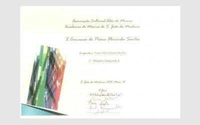 10th Florinda Santos Piano Competition, PORTUGAL