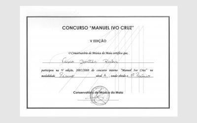 5th Competition Manuel Ivo Cruz, PORTUGAL