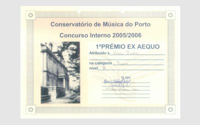 Internal Competition of Porto Music Conservatory, PORTUGAL