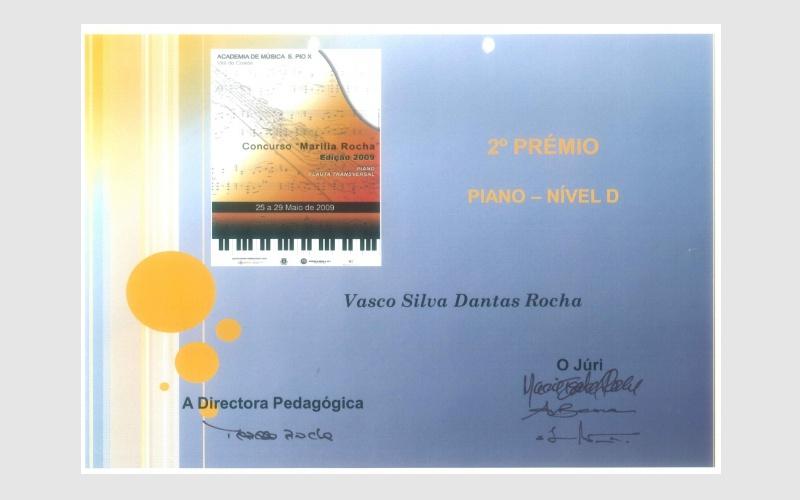 """Piano Competition """"Marilia Rocha"""", PORTUGAL"""