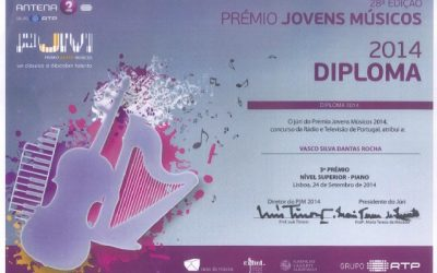 28th edition of the Portuguese Young Musician Award by Antena 2 – RTP, PORTUGAL