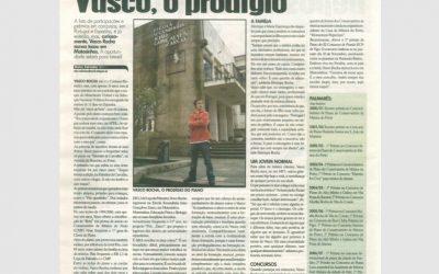 Jornal Matosinhos Hoje, Interview, Portugal 2008