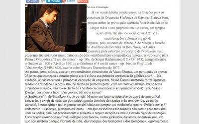 """""""Auditório Senhora da Boa Nova was sold out!"""" © Cyber Jornal"""