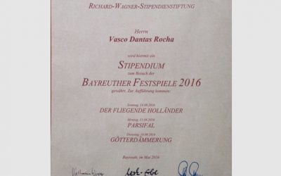 """Scholarship Richard Wagner, Travel to the Bayreuth Festspiel"""