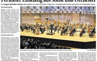 """Perfect Harmony from Soloist and Orchestra"""