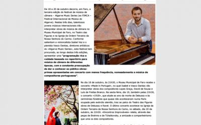"""Algarve Music Series brings chamber music to Faro"""
