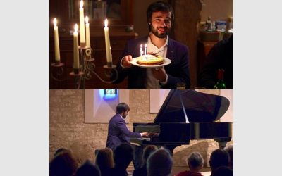 Piano Recital at Priorato Saint Mesnil (France) and birthday !