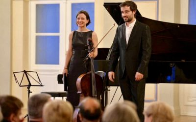 Duo Concert with Isabel Vaz (cello) in Varazdin, Croatia