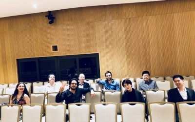 Jury Panel at 'Piano Island International Competition' (Singapore)