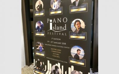 Piano Recital in Singapore at 'Piano Island International Festival'