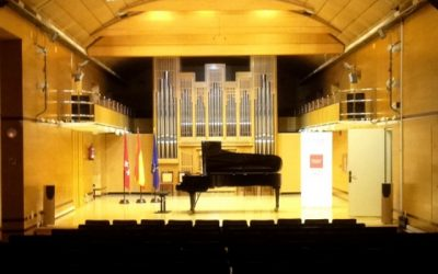 Piano Recital at Real Conservatorio de Madrid, Spain