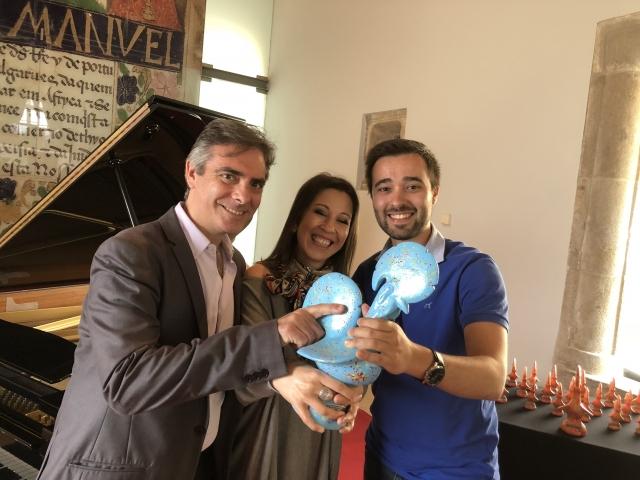 Jury at 'Pequenos Galinhos' Piano Competition, Barcelos (Portugal)
