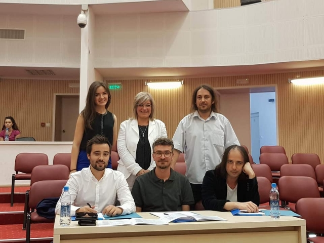 Jury Panel at 'Pianisti i Ri – The Young Pianist 2018', Kosovo