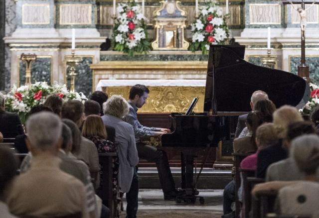 Piano Recital in Rome (Italy)