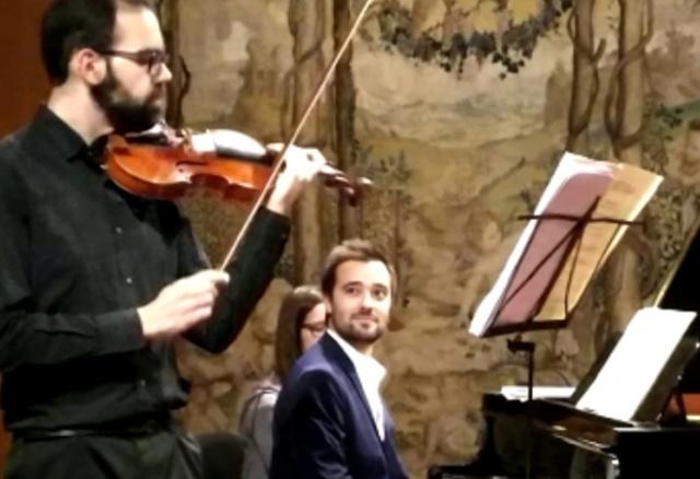 Duo Concert at Museu Calouste Gulbenkian, Lisbon