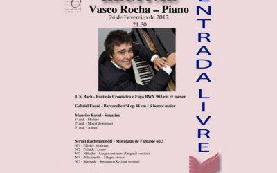 Piano Recital, Conservatório de Música do Porto – Porto, 2012
