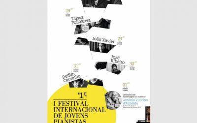 Festival Internacional de Jovens Pianistas, Amarante – July 2015