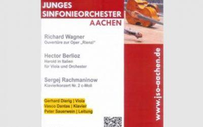 Junges sinfonieorchestra Aachen – Germany, November 2016