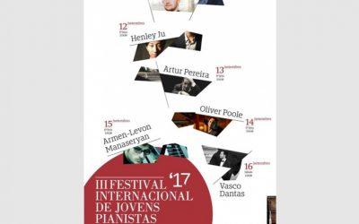Festival Internacional de Jovens Pianistas, Amarante – September 2017
