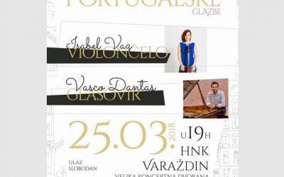 Portuguese Evening, Varazdin National Theatre – Croatia, March 2018