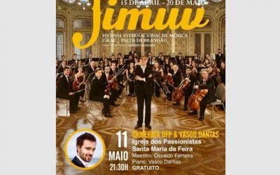 Festival Internacional de Música de Paços de Brandão, Orquestra Filarmónica Portuguesa – Portugal, May 2018