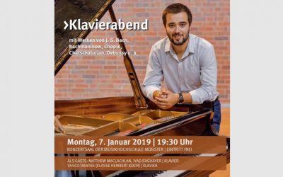 Münster Musikhochschule, Germany – January 2019