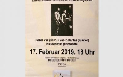 Portuguese – German Evening, February 2019