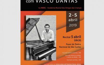 Masterclass and Concert at Teatro São Carlos, Lisboa – April 2019