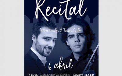 Duo recital, Montalegre – Portugal – April 2019