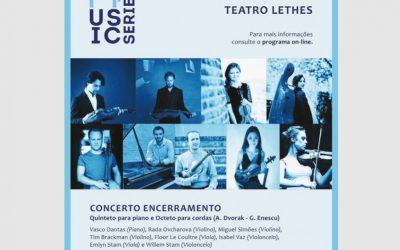 "IV Algarve Music Series ""Closing Concert"" (Faro, Portugal) – October, 2019"