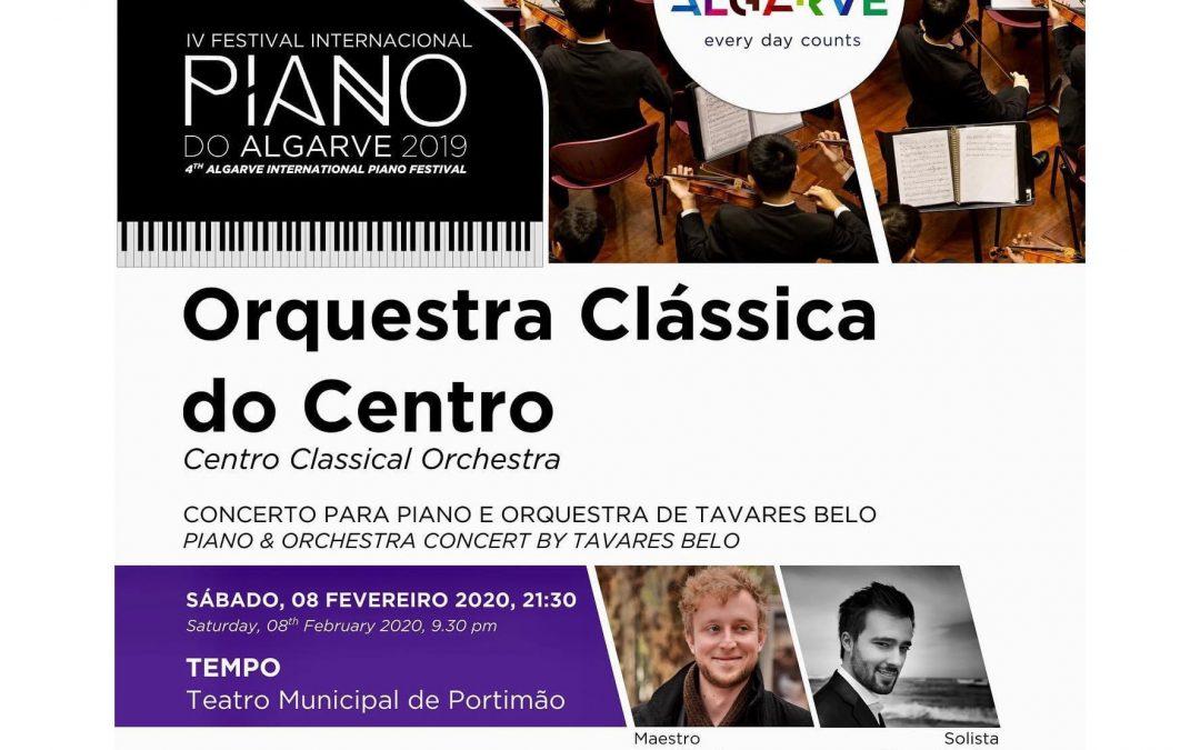Tavares Belo piano concerto – Center Classical Orchestra