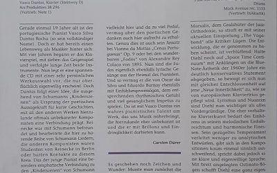 Piano News: Poetic Scenes – CD of the month (by Carsten Dürer)