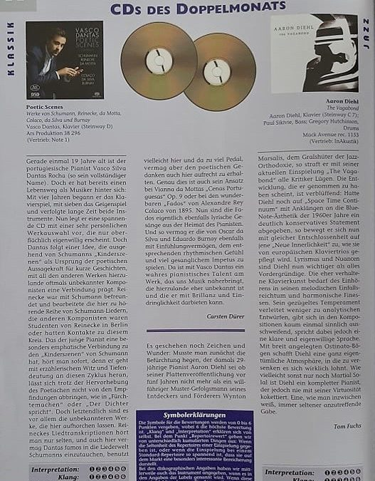 Piano News: Poetic Scenes – CD of the month (by Carsten Dürer)