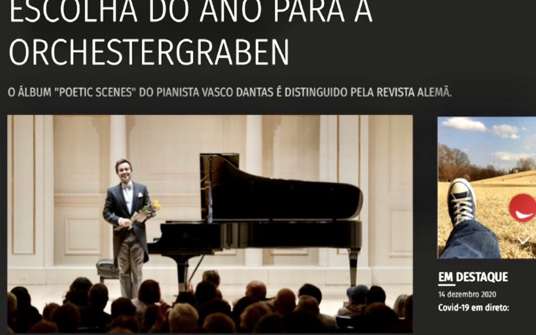 Portuguese pianist is the first choice of the year 2020 for Orchestergraben