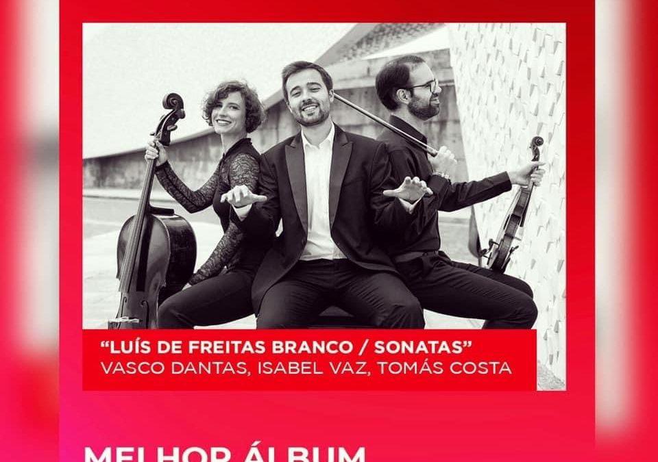 """Best Classical Music Album"" nomination by Prémios PLAY/Vodafone 2021 (Portugal)"